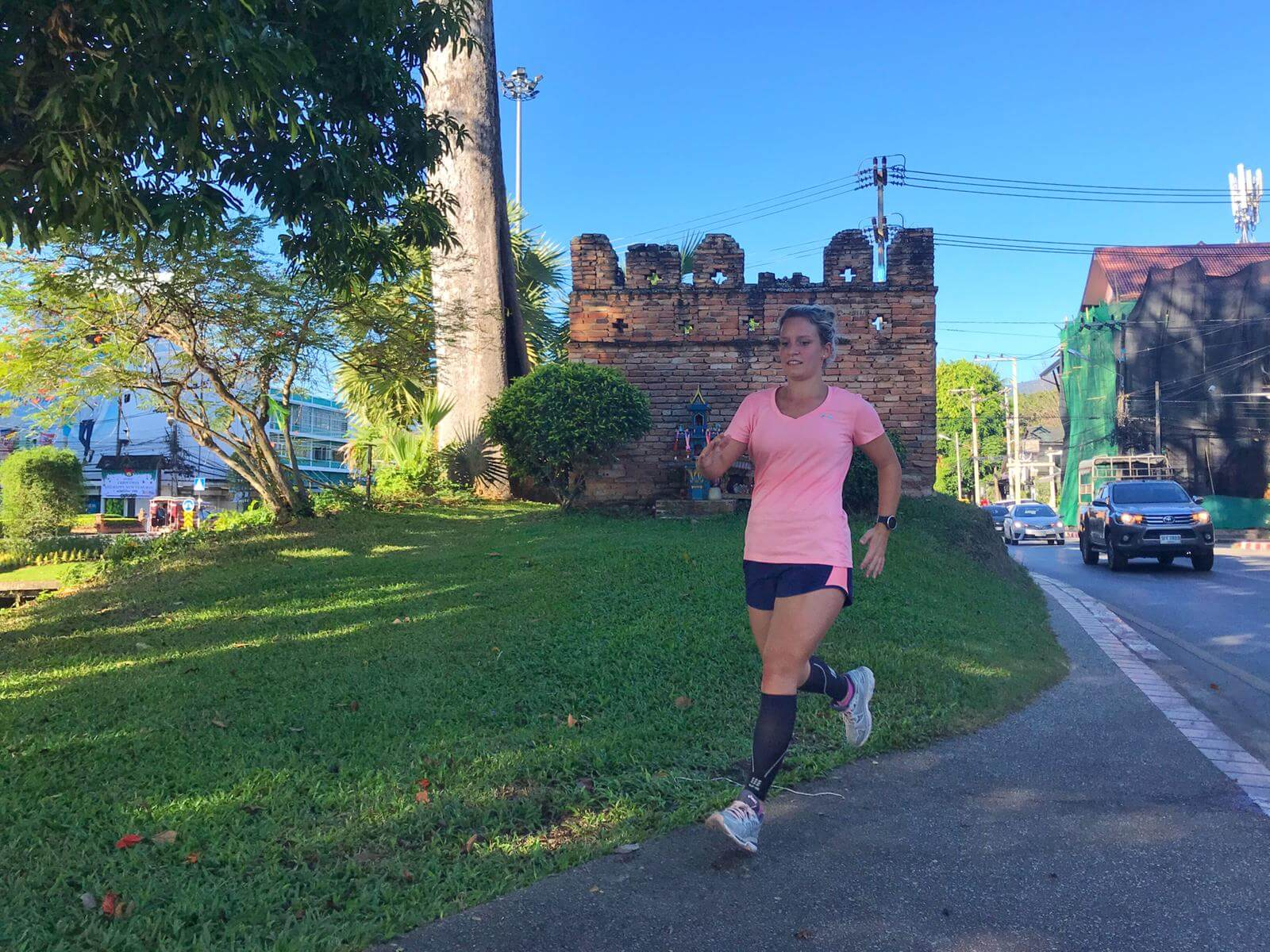 Running in Chiang Mai